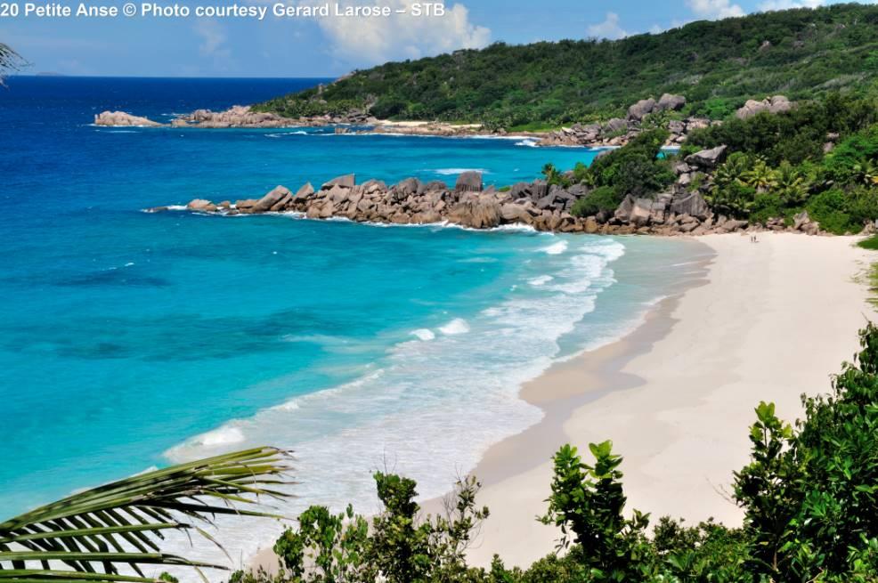 Petite Anse strand Mahé Seychellen
