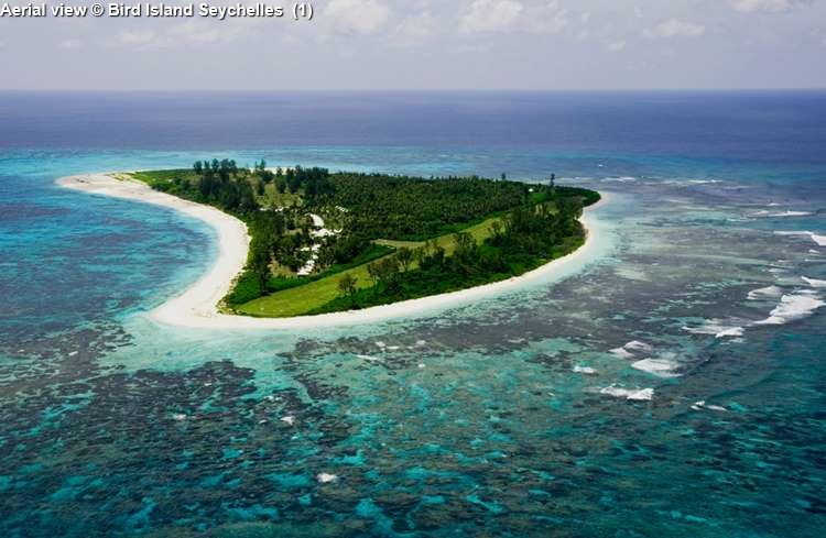 Aerial View © Bird Island Seychelles Mason's Travel