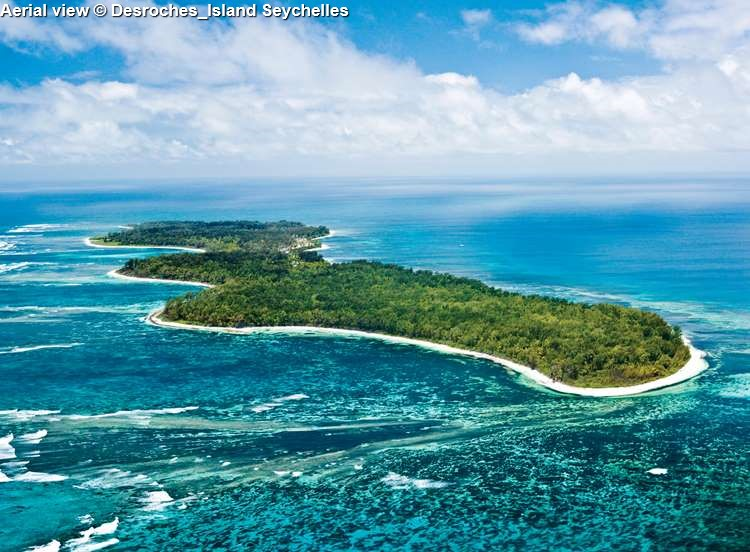 Aerial View © Desroches Island Seychelles