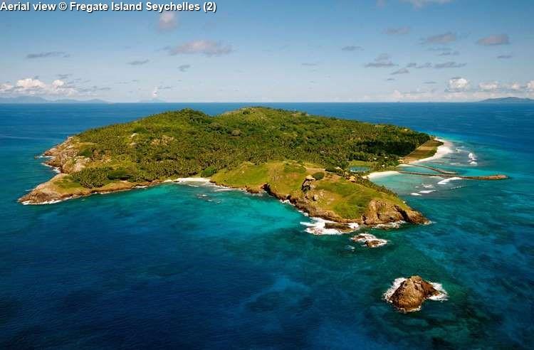 Aerial View © Fregate Island Seychelles