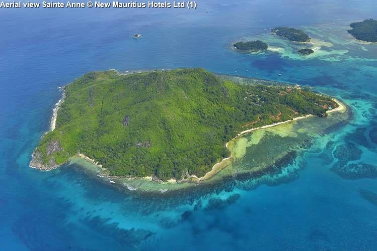 Aerial view Sainte Anne New Mauritius Hotels Ltd
