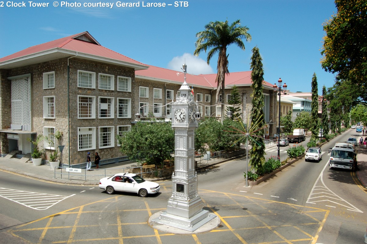Big Ben Clock Tower in Victoria Seychellen