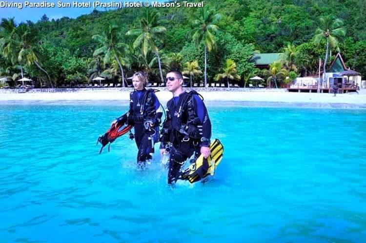 Diving Paradise Sun Hotel Praslin Hotel