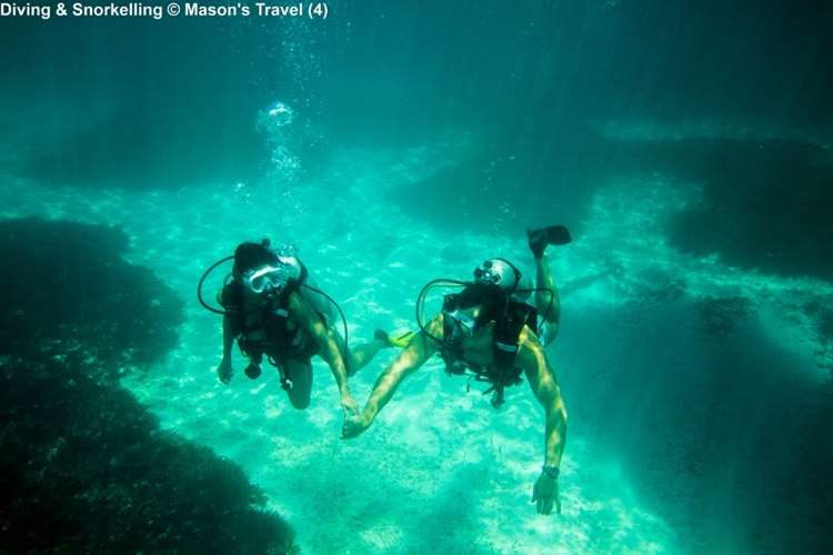 Diving & Snorkelling © Mason's Travel