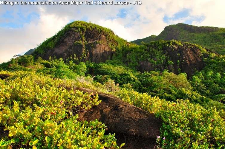 De top van het paradijs (Seychellen)