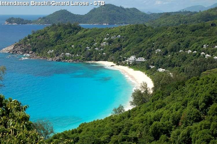 Strand van Intendance Mahé Seychellen