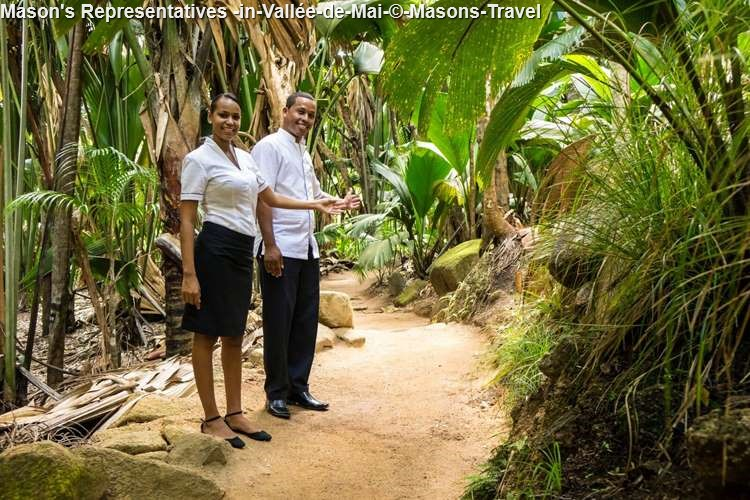 Mason's Representatives In Vallée De Mai © Masons Travel