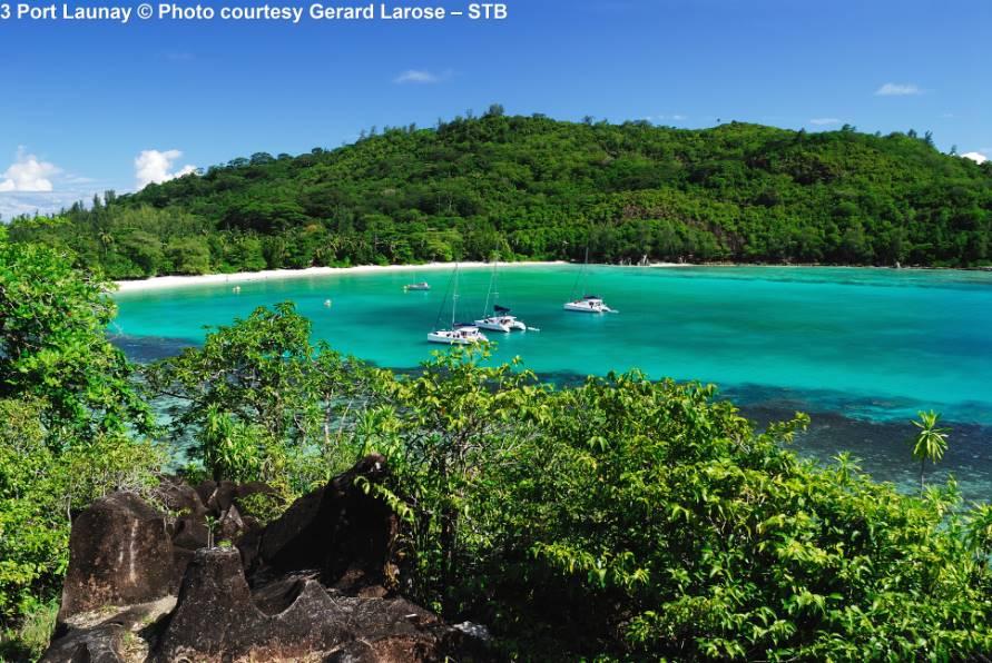 Port Launay Mahé Seychellen