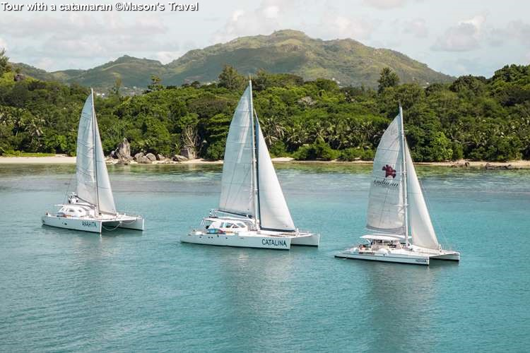 Tour With A Catamaran ©Masons Travel
