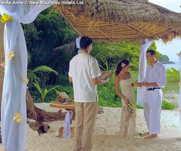 Wedding Sainte Anne © New Mauritius Hotels Ltd