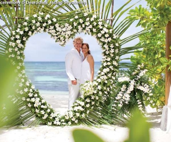 Wedding Ceremony © Desroches Island Seychelles