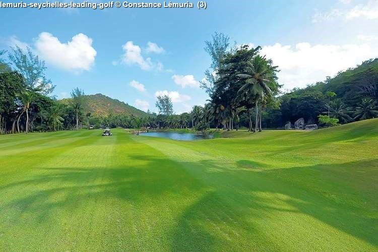 18-hole golfcourse next to Lémuria on Praslin