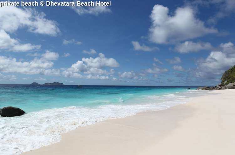 Private Beach © Dhevatara Beach Hotel