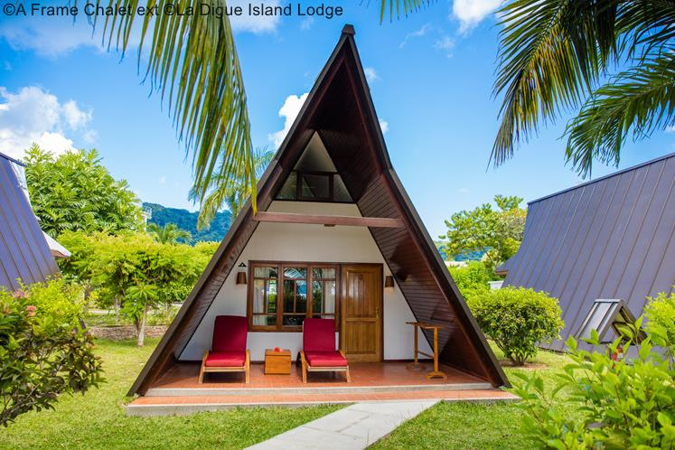 A Frame Chalet Ext ©La Digue Island Lodge