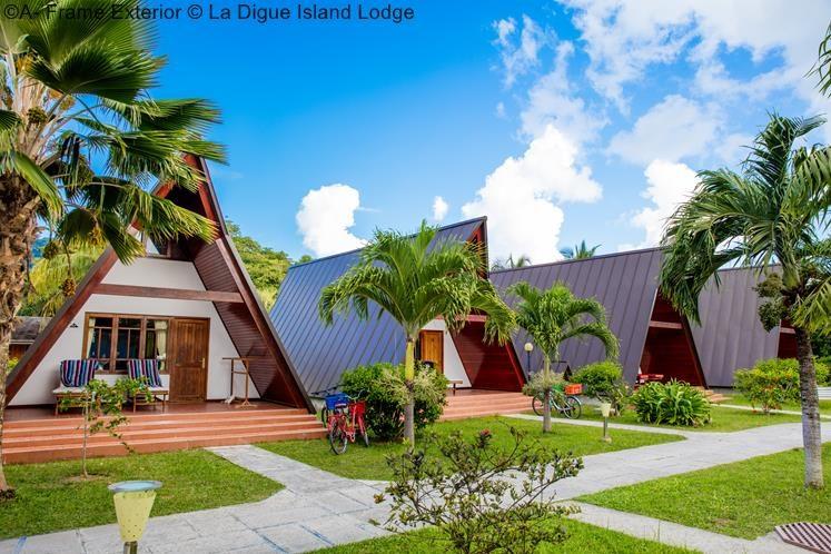 A Frame Exterior © La Digue Island Lodge