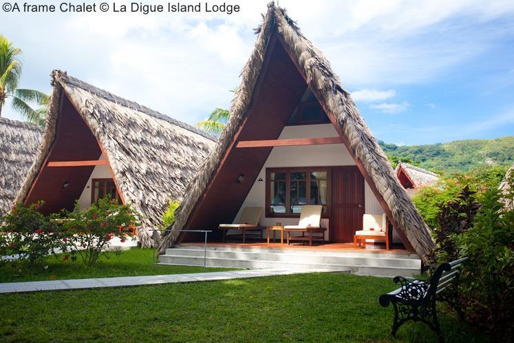 A Frame Chalet © La Digue Island Lodge