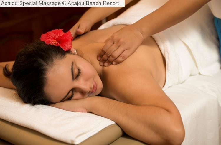 Acajou Special Massage © Acajou Beach Resort