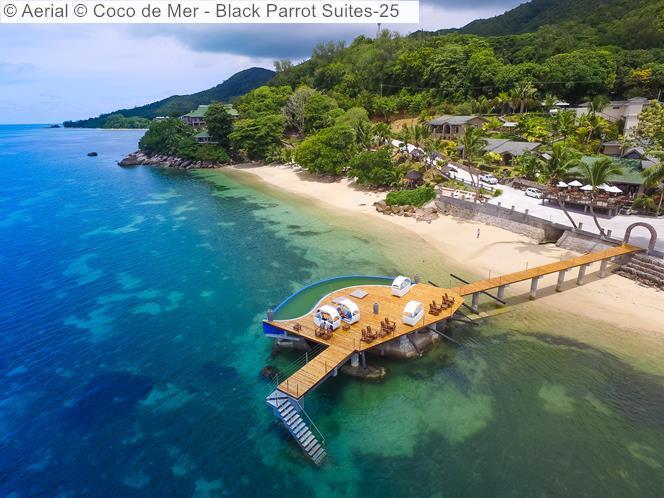 Aerial © Coco De Mer Black Parrot Suites