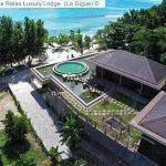 Aerial View © Le Relax Luxury Lodge (La Digue) ©