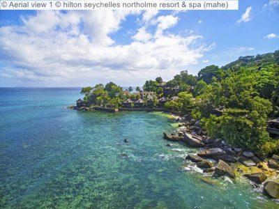 Aerial View © Hilton Seychelles Northolme Resort & Spa (mahe)