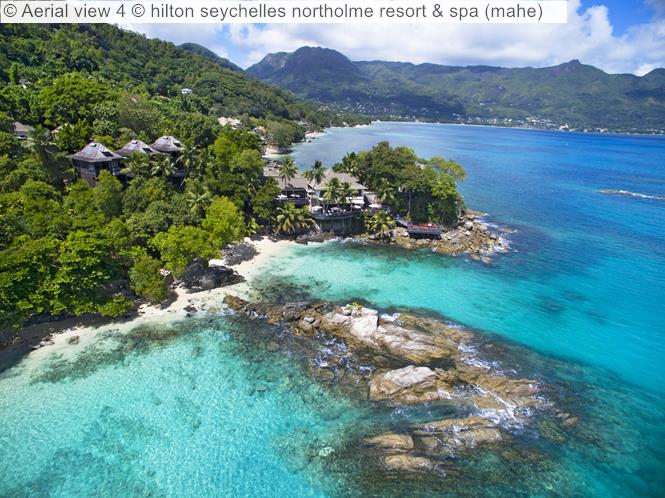 Aerial View 4 © Hilton Seychelles Northolme Resort & Spa