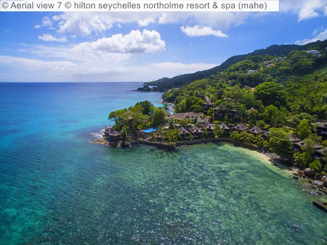 Aerial View © Hilton Seychelles Northolme Resort & Spa (mahe)