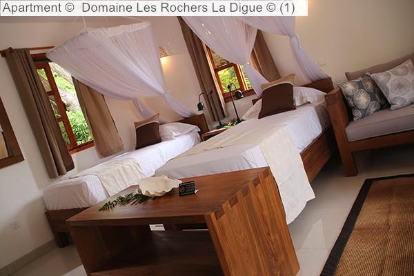 Apartment © Domaine Les Rochers La Digue © (1)