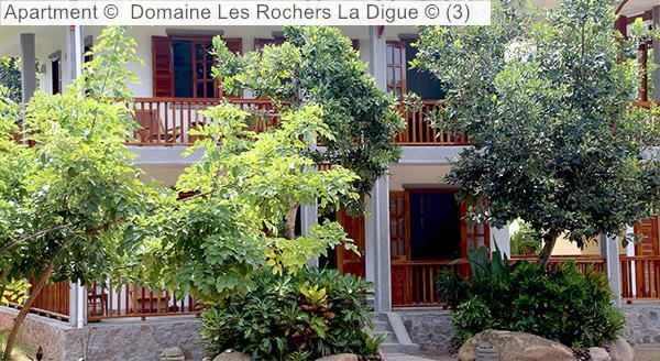 Apartment © Domaine Les Rochers La Digue ©