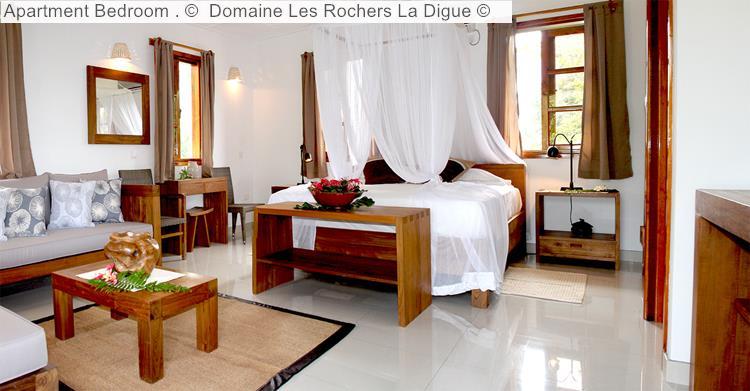 Apartment Bedroom Domaine Les Rochers La Digue