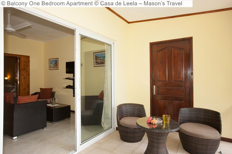 Balcony One Bedroom Apartment Casa de Leela – Mason's Travel