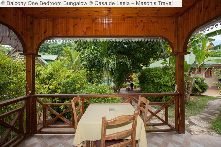 Balcony One Bedroom Bungalow © Casa De Leela – Mason's Travel