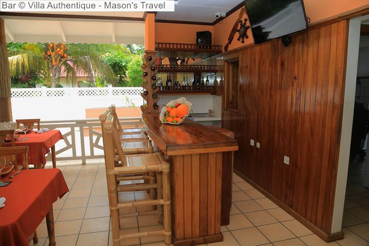 Bar © Villa Authentique Mason's Travel