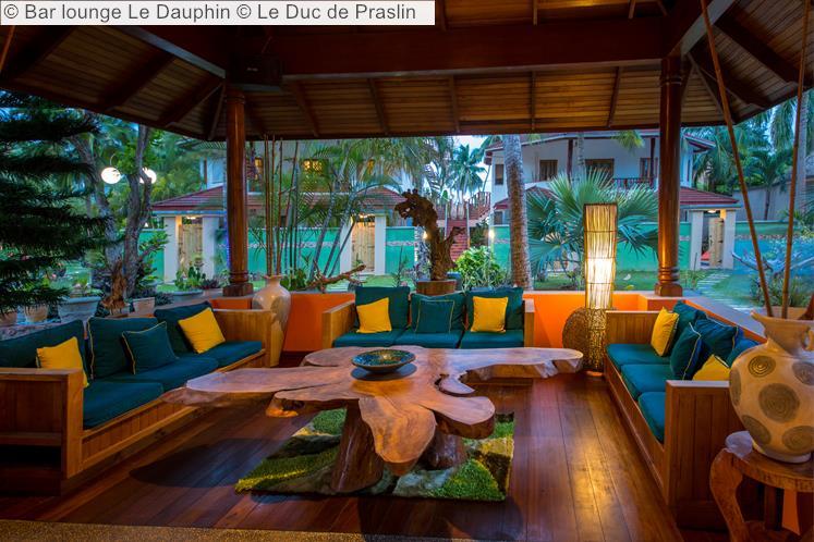 Bar Lounge Le Dauphin © Le Duc De Praslin