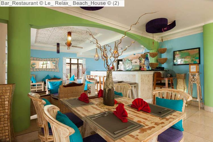 Bar Restaurant © Le Relax Beach House ©