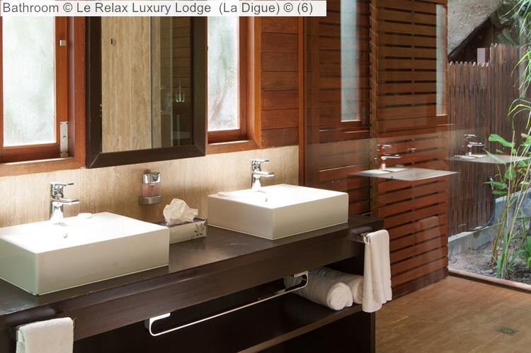 Bathroom Le Relax Luxury Lodge La Digue