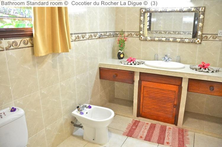 Bathroom Standard Room © Cocotier Du Rocher La Digue ©