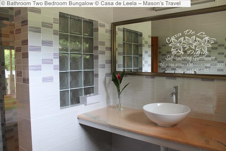 Bathroom Two Bedroom Bungalow Casa de Leela – Mason's Travel