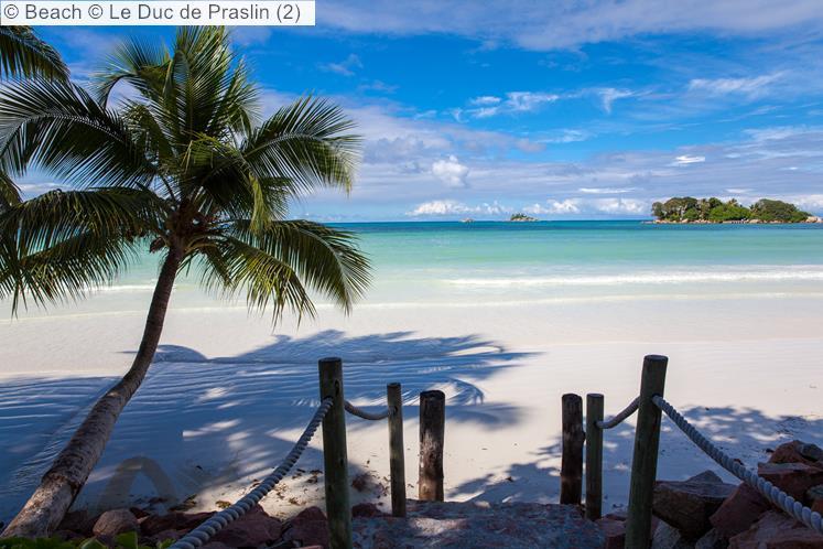 Beach © Le Duc De Praslin