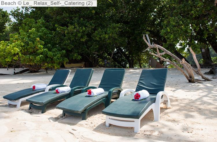 Beach close to Le Relax Self Catering (La Digue)