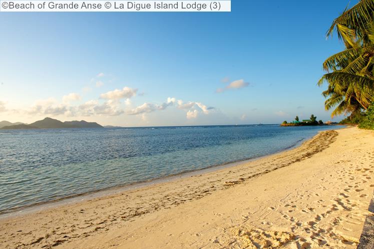 Beach Of Grande Anse © La Digue Island Lodge