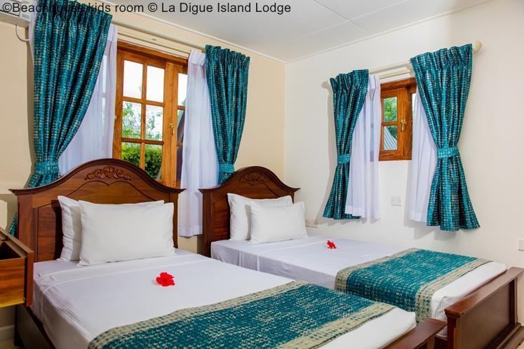 Beachhouse Kids Room © La Digue Island Lodge