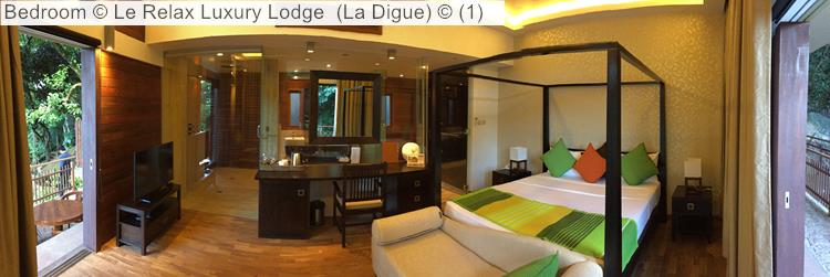 Bedroom © Le Relax Luxury Lodge (La Digue) ©
