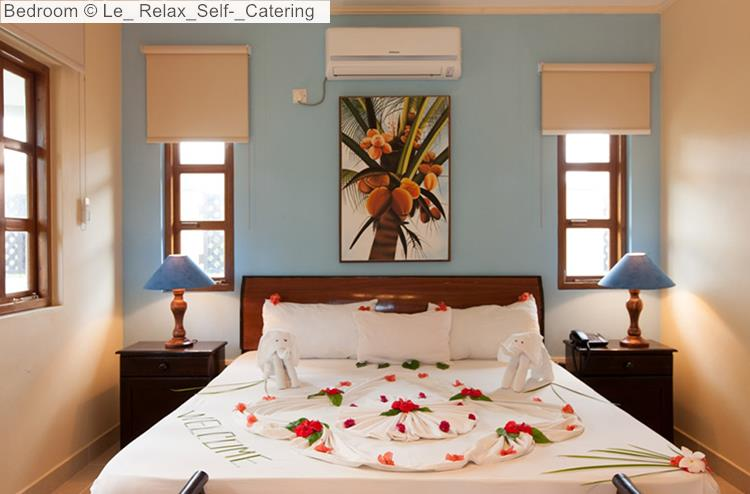 Bedroom of Le Relax Self Catering (La Digue)