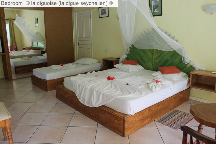 Bedroom © La Diguoise (la Digue Seychellen) ©