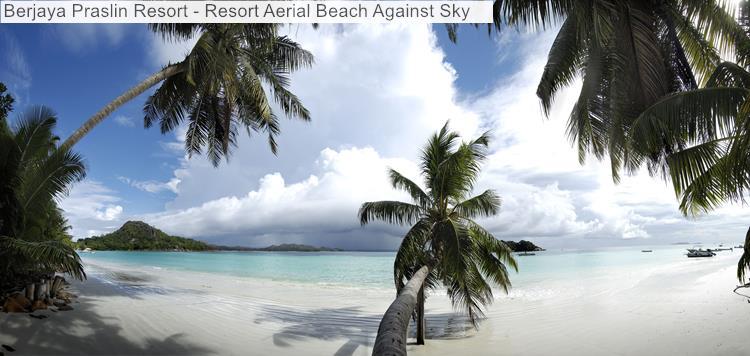 Berjaya Praslin Resort Resort Aerial Beach Against Sky