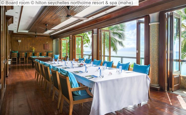Board Room © Hilton Seychelles Northolme Resort & Spa (mahe)