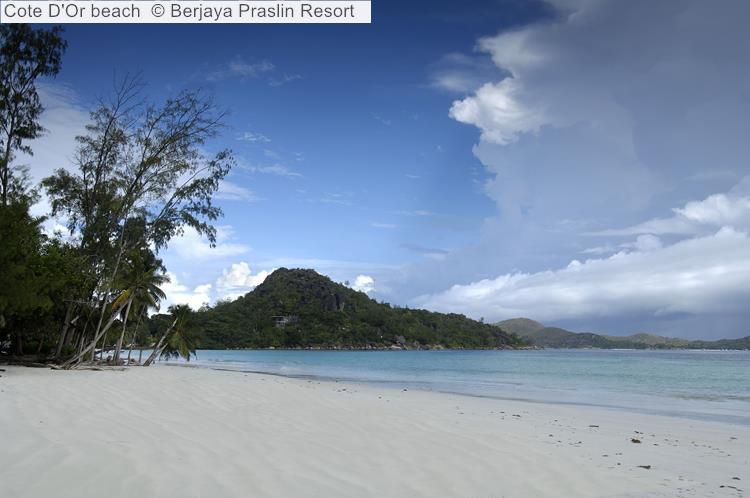 Cote D'Or Beach © Berjaya Praslin Resort