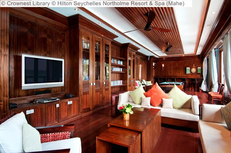Crownest Library © Hilton Seychelles Northolme Resort & Spa (Mahe)