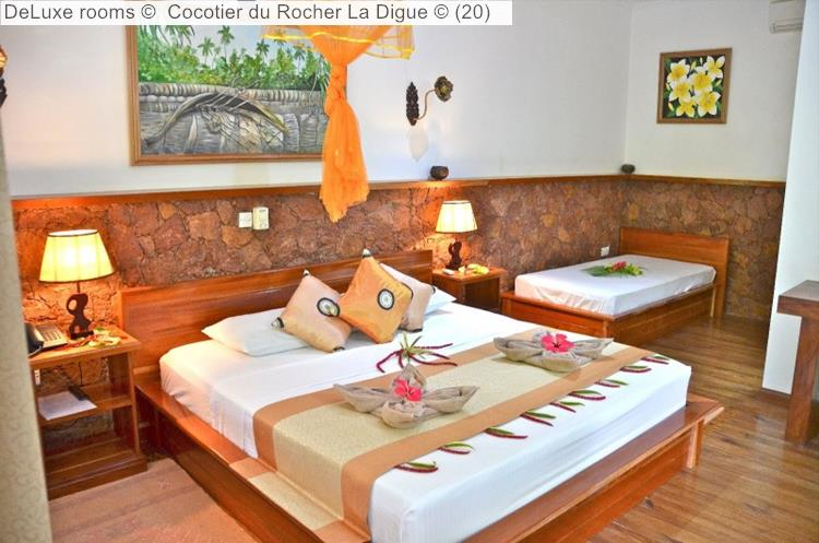 DeLuxe Rooms © Cocotier Du Rocher La Digue ©