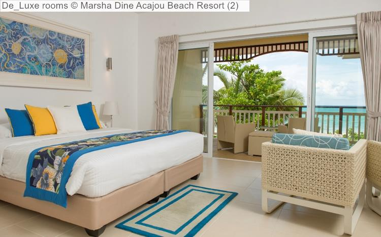 De Luxe rooms   Acajou Beach Resort